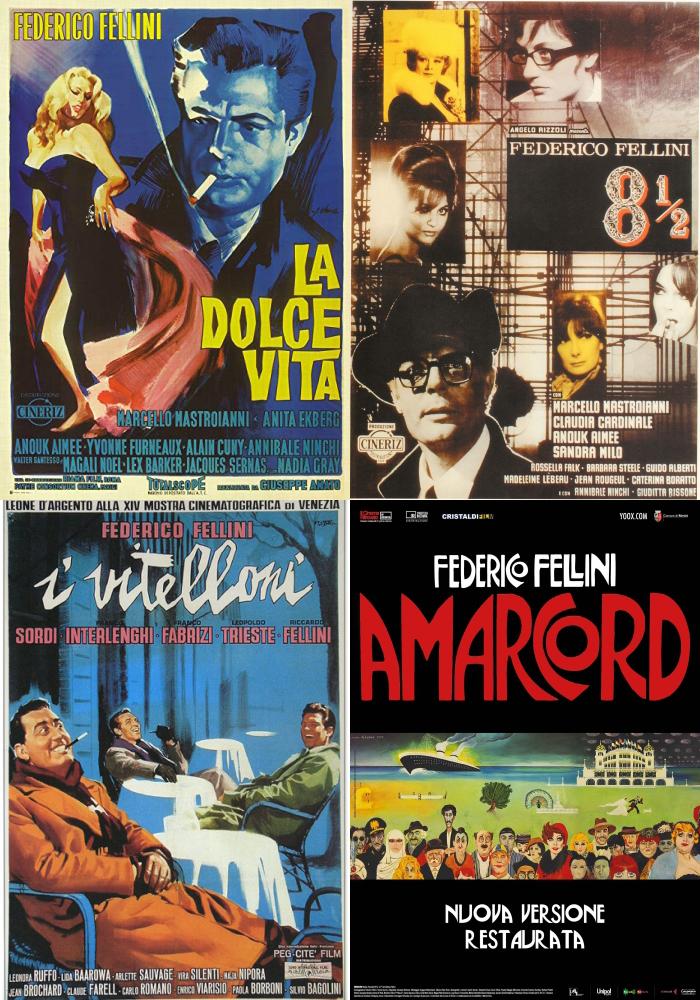 FELLINI 100: FILM, MUSICA, INCONTRI DEDICATI AI CENTO ANNI DEL GRANDE MAESTRO DEL CINEMA ITALIANO