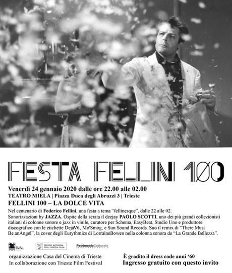 FESTA FELLINI 100